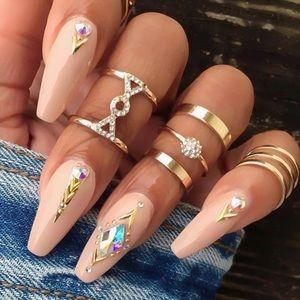 HERA ♡ Rings 5 pcs SET